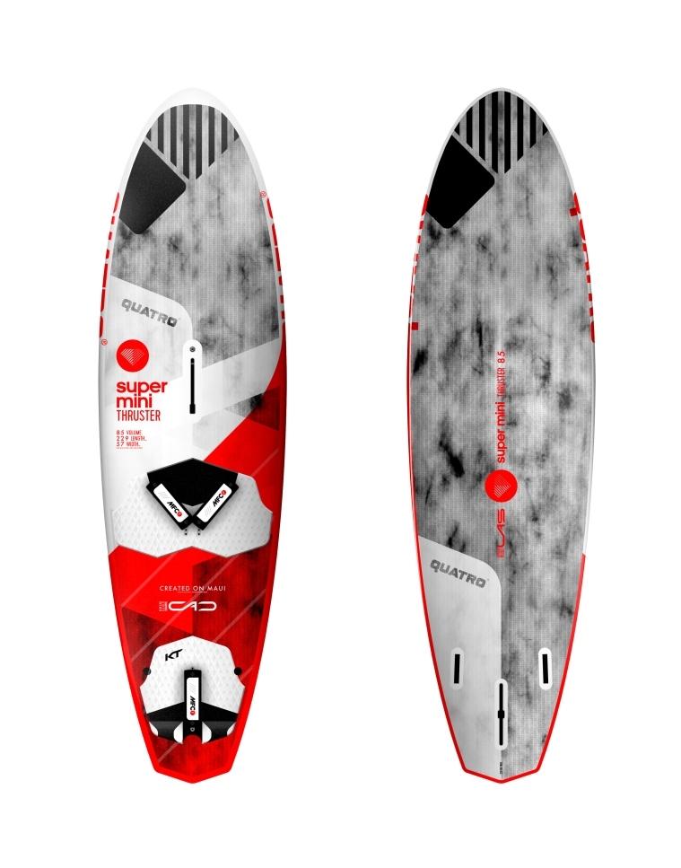 Placa Windsurf Quatro Thruster Super Mini 2017