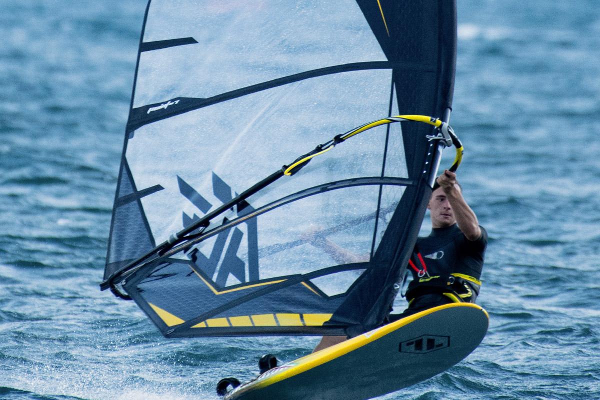 Vela Windsurf Ac F Freeride 2021 Black