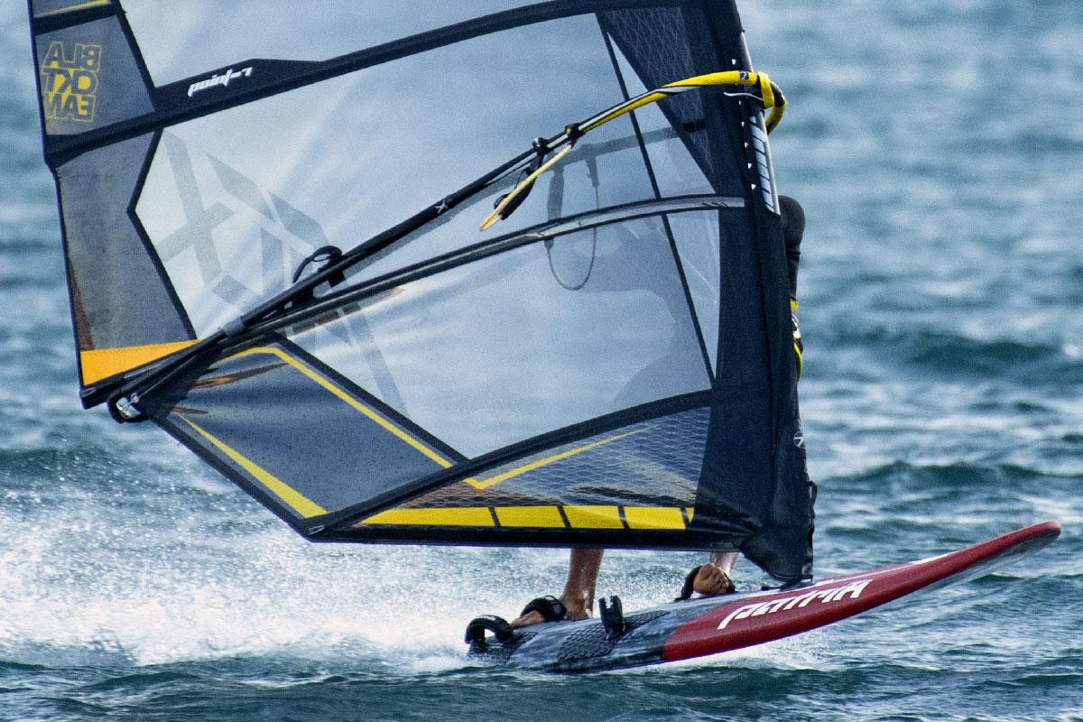 Vela Windsurf Ac X Slalom Fara Cambere Black