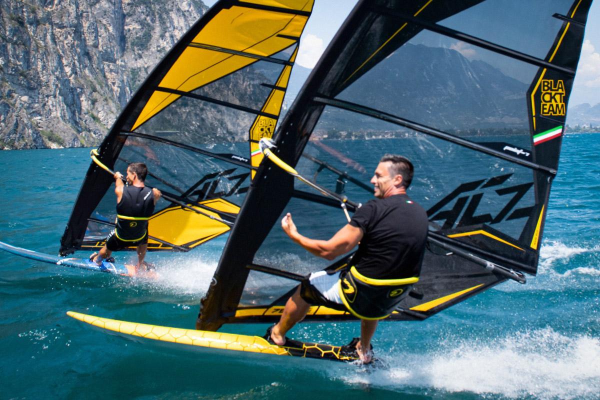 Vela Windsurf Ac Z Race Black