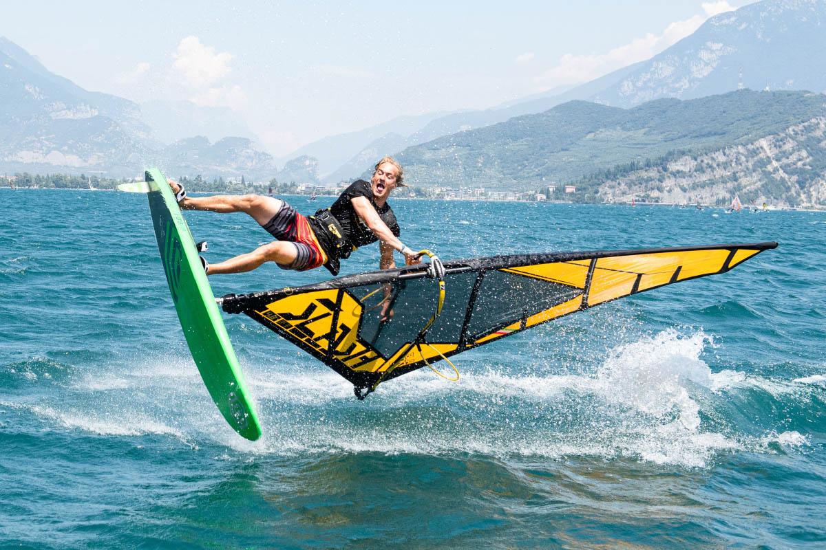 Vela Windsurf Spy Freestylewave 2021 Yellow