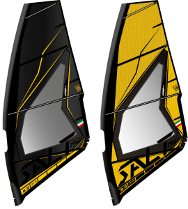 Vela Windsurf Salt Pro Wave 2021 Black