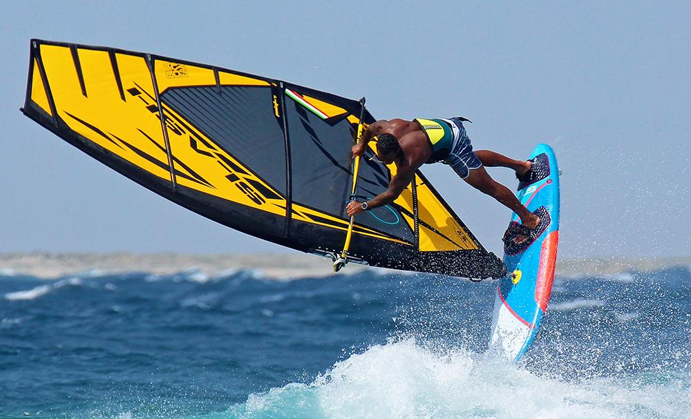 Vela Windsurf Slash Freestyle 2020 Yellow